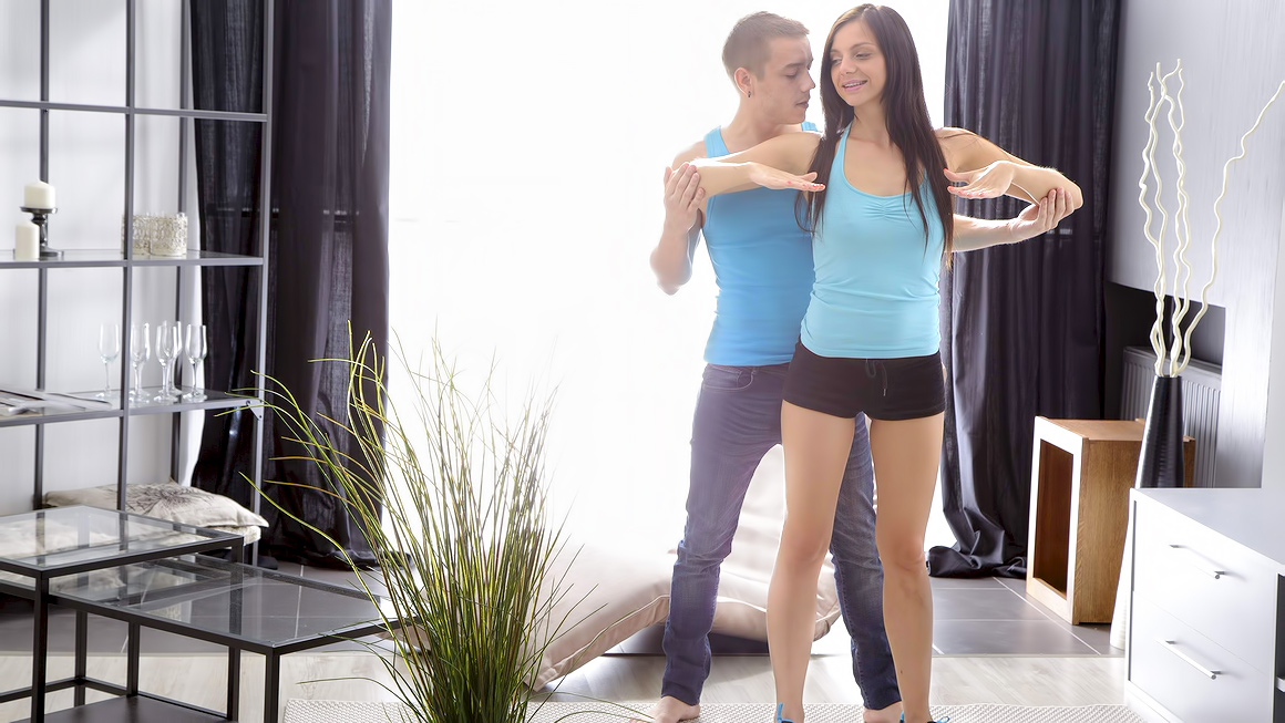 Yoga teen anal